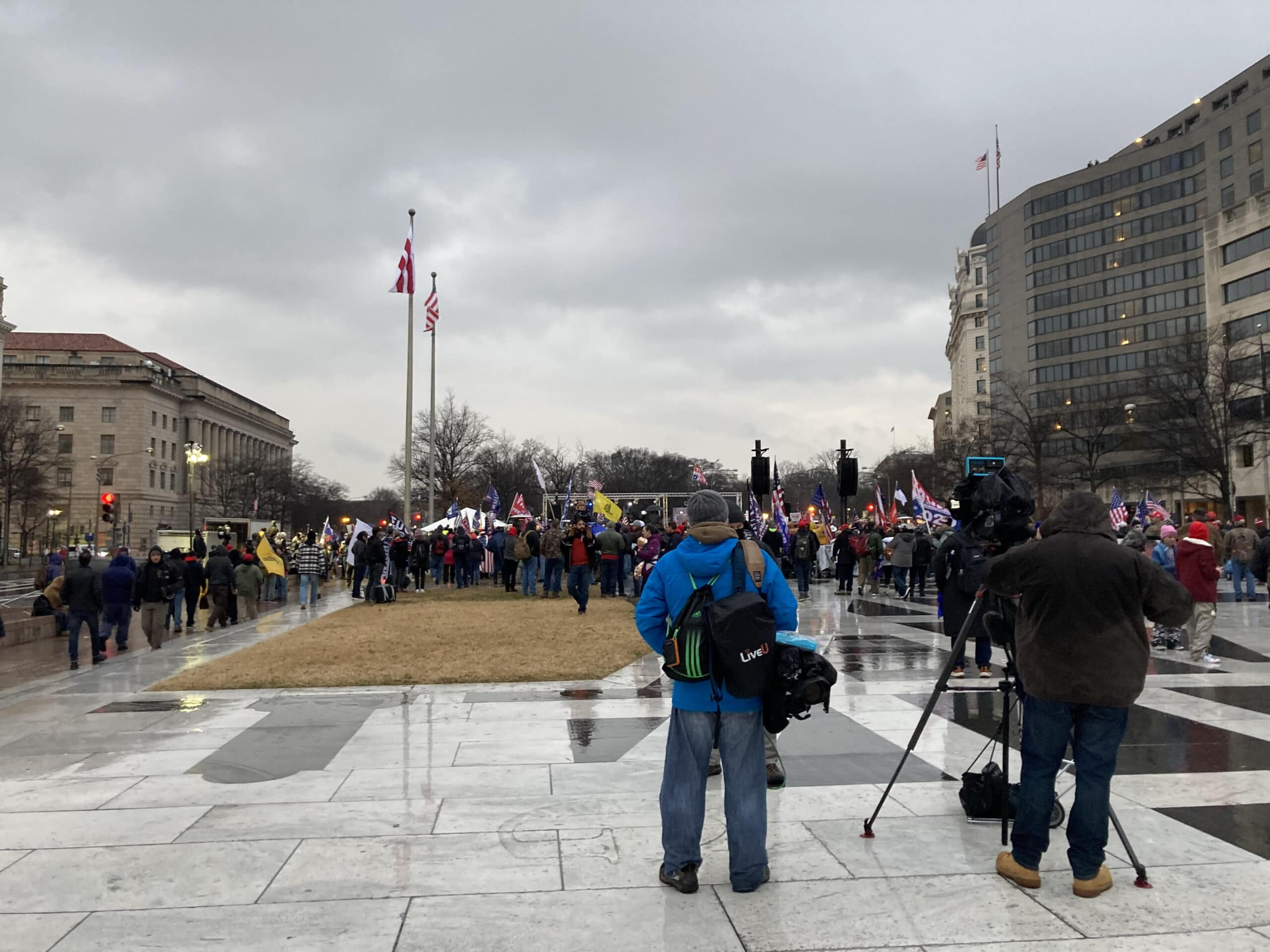 protest in DC
